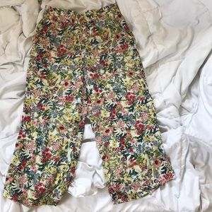 Floral Cropped Summer Pant